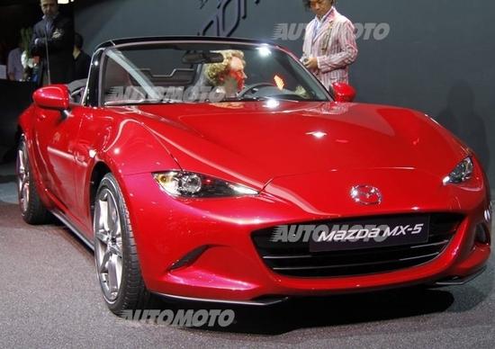 Mazda al Salone di Parigi 2014