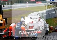 F1 Giappone 2014: incidente Bianchi. La famiglia: «Danno assonale esteso, condizioni stabili»
