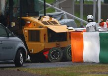 F1 Giappone 2014: nessun errore, l'incidente di Bianchi è una disgrazia