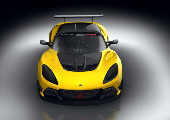 Lotus Exige Race 380, la Exige più veloce di sempre