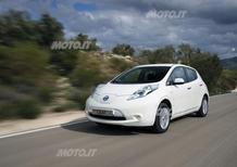 Nissan premiata per la riduzione del CO2