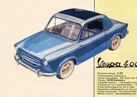 Le auto a due tempi (II parte). Dalla Trabant alla Vespa 400, l'auto della Piaggio
