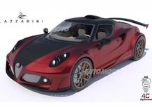 Alfa Romeo 4C Definitiva: l'elaborazione estrema con un V8 Ferrari da 750 CV