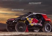 Peugeot 2008 DKR: ecco la tenuta da combattimento per la Dakar 2015