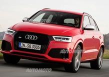 Audi RS Q3 restyling