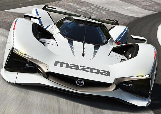 Mazda LM55 Vision Gran Turismo, una concept ispirata alla leggendaria 787B