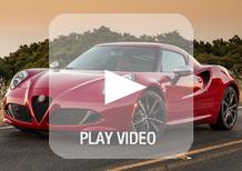 Alfa Romeo 4C: lo spot per gli USA mette i brividi