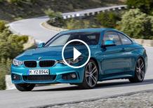 BMW Serie 4 e M4 restyling 2017: cambiamenti di fino [Video]