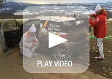 WRC Montecarlo, Loeb distrugge una sospensione. Fine del sogno?