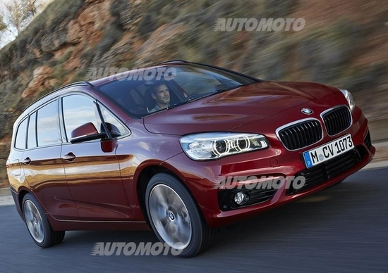 bmw serie 2 grand tourer: cresce fino a 7 posti - saloni - automoto.it