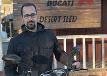 Ducati Scrambler Desert Sled. Intervista a Federico Sabbioni