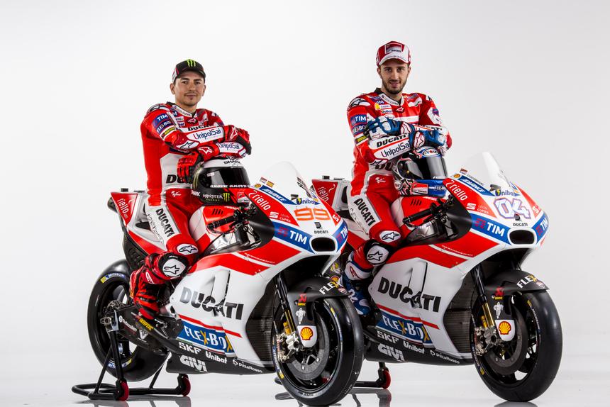 Gallery MotoGP. Tutte le foto ufficiali del team Ducati 2017 (2)