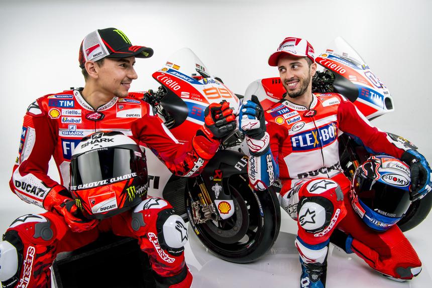 Gallery MotoGP. Tutte le foto ufficiali del team Ducati 2017