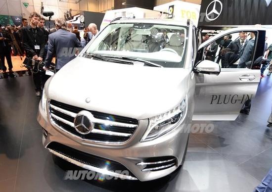Mercedes Concept V-ision e: monovolume plug in da 333 CV