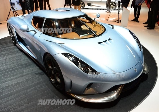 Koenigsegg Regera: la ibrida da 1.500 CV che fa impallidire le supercar di Ginevra