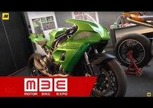 Lussiana Disegno a Motor Bike Expo 2017: il lavoro del designer