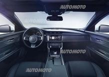 Nuova Jaguar XF: ecco gli interni