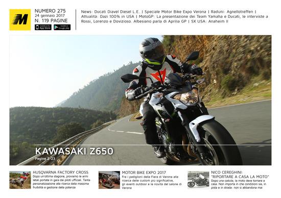 Magazine n°275, scarica e leggi il meglio di Moto.it