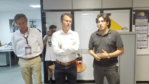 Gerald Poellmann e José Garvía