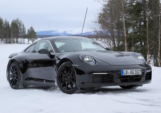 Nuova Porsche 911: la prossima generazione è già in test
