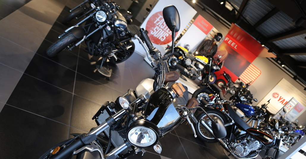 Moto Shop Parma: la nuova Visual Identity Yamaha parte dall'Italia