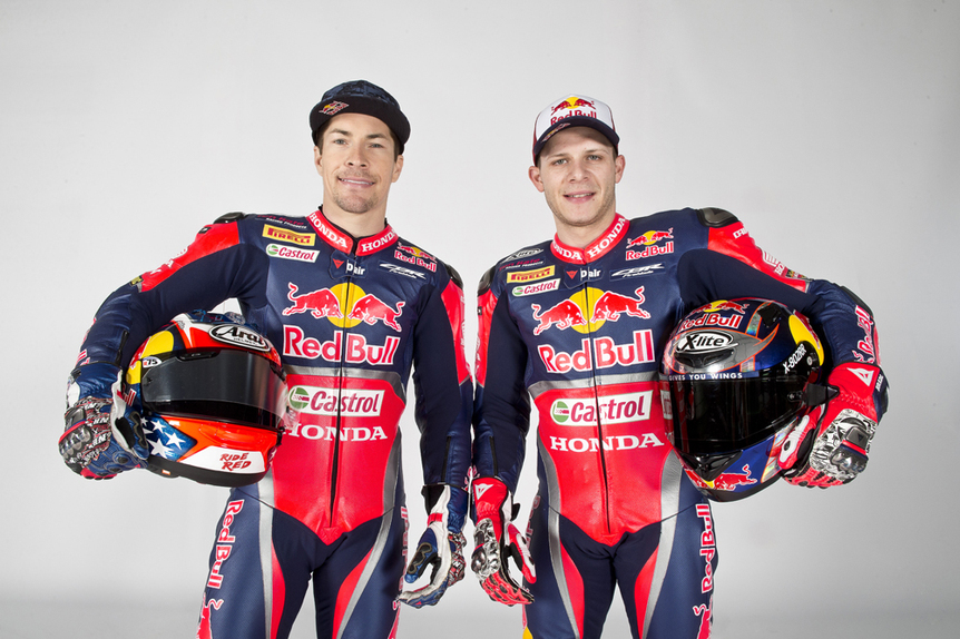 Presentato il team Red Bull Honda World Superbike (2)