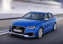 Audi RS3 Sportback restyling, ora ha 400 CV [Video]