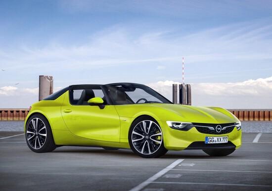 Opel GT Targa: sogno possibile? [rendering]