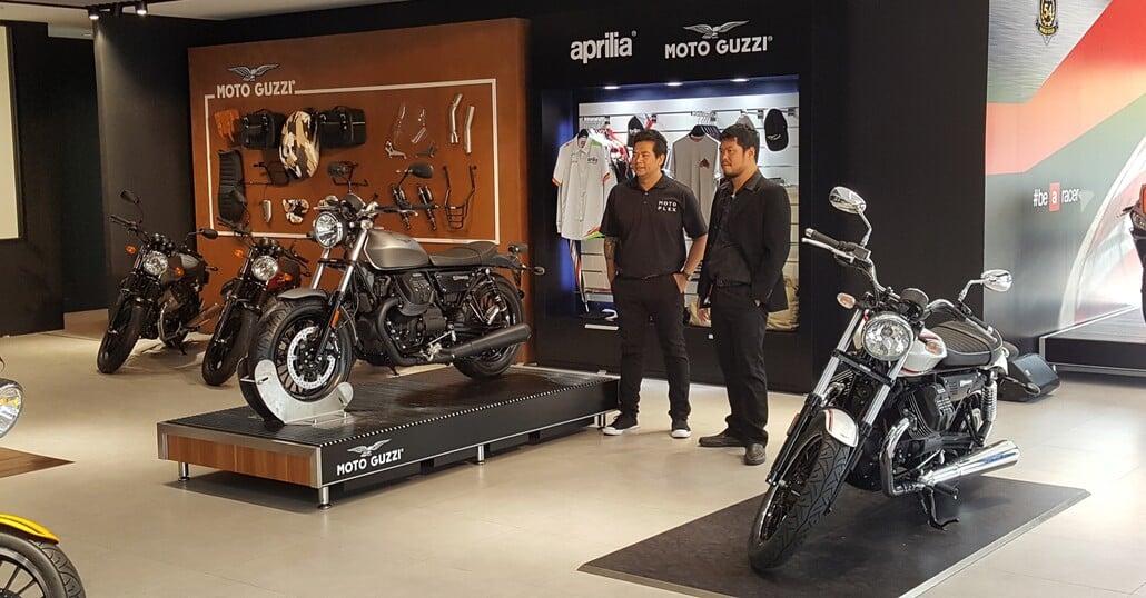 Motoplex Bangkok lancia Aprilia e Moto Guzzi