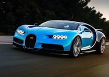 Bugatti Chiron: da 0 a 402 km/h e stop in meno di 60 secondi!