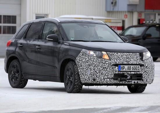 Suzuki Vitara Facelift: scatti del muletto in test