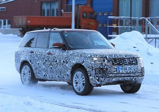 Range Rover: nuovo ibrido con facelift in arrivo