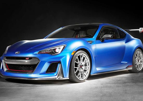 Subaru STi Performance Concept: mette il turbo, ma nel mondo dei sogni