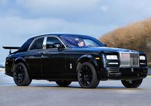 Rolls-Royce: sotto a questo strano muletto si nasconde il futuro SUV