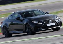 Lexus RC F 2017: sportività premium alla giapponese [Video Primo Test]