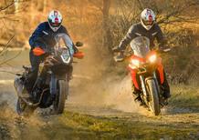 Ducati Multistrada 950 vs KTM 1090 Adventure. Comparativa maxienduro
