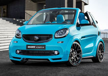 smart Brabus Ultimate 125 in mostra al Salone di Ginevra 2017