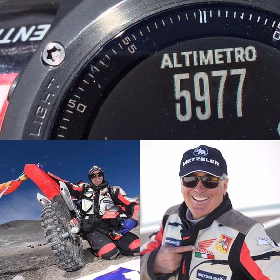 Metzeler MC 360: tre record nell'ascesa al Nevado Ojos del Salado (3)