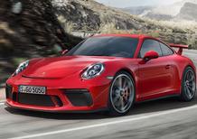 Porsche 911 GT3 restyling: torna il manuale al Salone di Ginevra 2017 [Video]