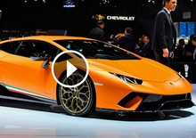 Lamborghini Huracan Performante, la videorecensione al Salone di Ginevra 2017 [Video]