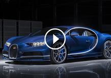 Bugatti Chiron, la videorecensione al Salone di Ginevra 2017 [Video]
