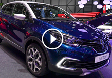 Renault Captur restyling, la videorecensione al Salone di Ginevra 2017 [Video]