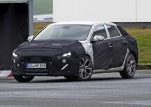 Hyundai i30 Fastback: spy shots