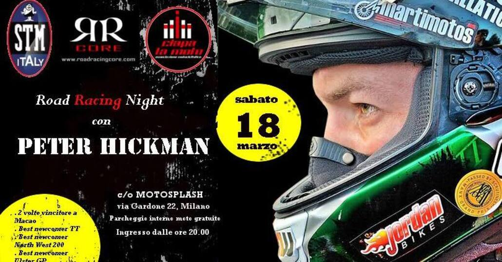 Road Racing Night il 18 marzo da Ciapa la Moto