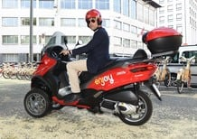 Scooter sharing Enjoy, partito a Milano con gli MP3