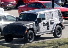 Jeep new Wrangler 2018: spy shots