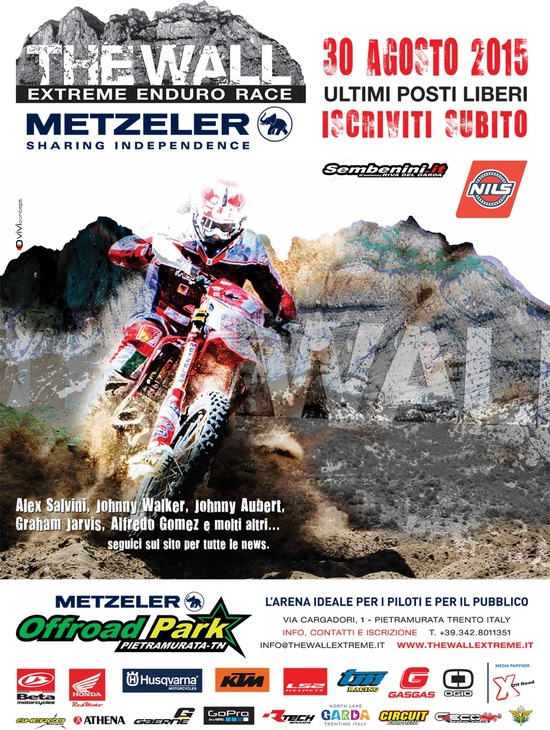 The Wall, enduro estremo il 30 agosto a Trento