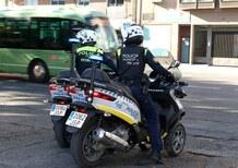 160 Piaggio MP3 alla polizia di Madrid