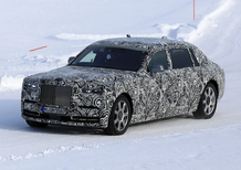 Rolls-Royce new Phantom 2018: spy shots