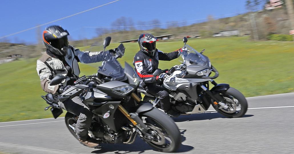 Honda Crossrunner Vs Yamaha Tracer Prove Motoit